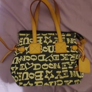 $7 Dooney & Bourke handbag tote used condition